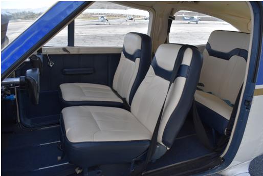 Cessna 177 Interior